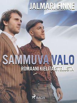 Finne, Jalmari - Sammuva valo: romaani kielitaistelusta, ebook