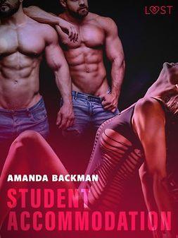 Backman, Amanda - Student accommodation - Erotic Short Story, e-kirja