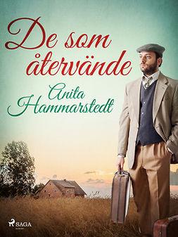 Hammarstedt, Anita - De som återvände, ebook