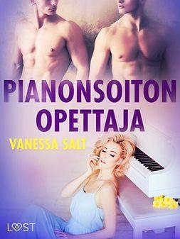Salt, Vanessa - Pianonsoiton opettaja - eroottinen novelli, e-kirja