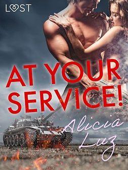 Luz, Alicia - At Your Service! - Erotic short story, ebook