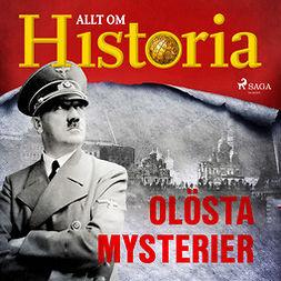 Mohede, Håkan - Olösta mysterier, audiobook