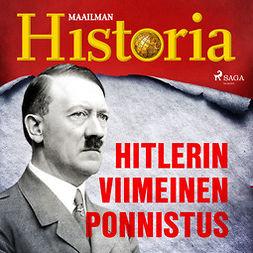 Historia, Maailman - Hitlerin viimeinen ponnistus, äänikirja