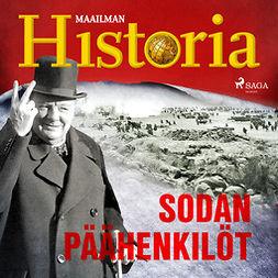 Puhakka, Jussi - Sodan päähenkilöt, äänikirja
