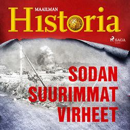 Puhakka, Jussi - Sodan suurimmat virheet, äänikirja