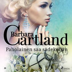 Cartland, Barbara - Paholainen saa sädekehän, äänikirja