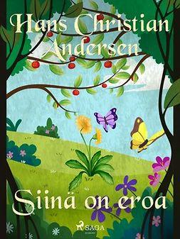 Andersen, H. C. - Siinä on eroa, e-kirja