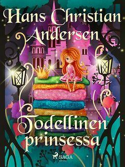 Andersen, H. C. - Todellinen prinsessa, e-kirja