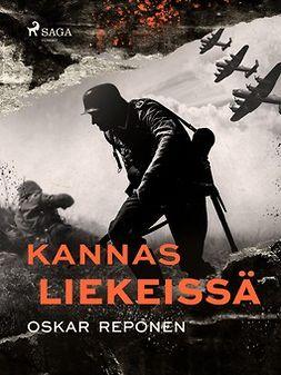 Reponen, Oskar - Kannas liekeissä, e-kirja