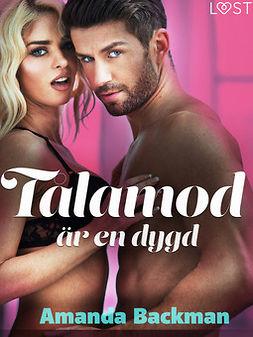 Backman, Amanda - Tålamod är en dygd - erotisk novell, ebook