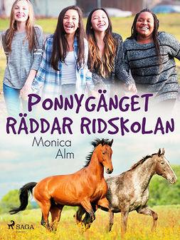Olausson, Rune - Ponnygänget räddar ridskolan, ebook