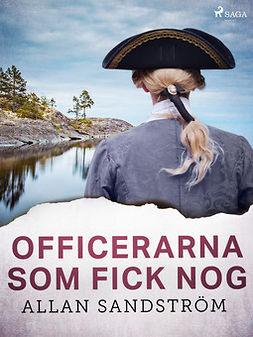 Sandström, Allan - Officerarna som fick nog, ebook