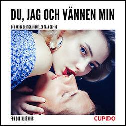 Green, Adam - Du, jag och vännen min - och andra erotiska noveller från Cupido, audiobook