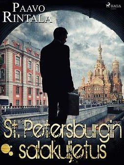 Rintala, Paavo - St. Petersburgin salakuljetus, e-kirja