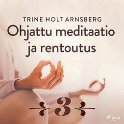 Arnsberg, Trine Holt - Ohjattu meditaatio ja rentoutus - Osa 3, audiobook
