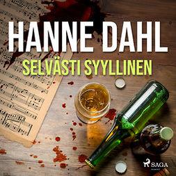 Dahl, Hanne - Selvästi syyllinen, äänikirja