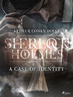 Doyle, Arthur Conan - A Case of Identity, e-bok