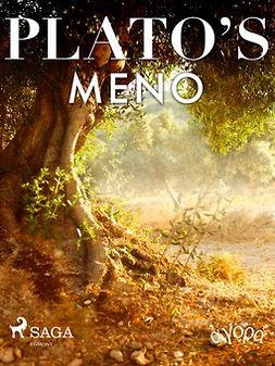 Plato - Plato's Meno, ebook