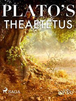 Plato - Plato's Theaetetus, ebook