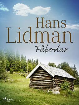Lidman, Hans - Fäbodar, e-bok