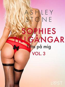 Stone, Ashley B. - Sophies tillgångar vol. 3: Titta på mig - erotisk novell, ebook