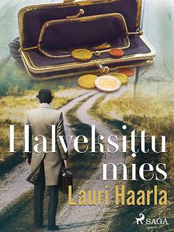 Haarla, Lauri - Halveksittu mies, e-kirja
