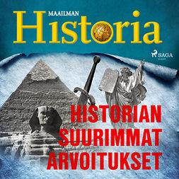 Historian suurimmat arvoitukset