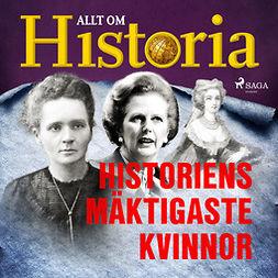 Bergström, Joachim - Historiens mäktigaste kvinnor, audiobook