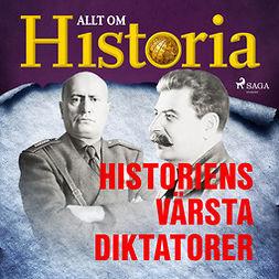 Kandell, Dan - Historiens värsta diktatorer, audiobook