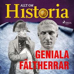 Bergström, Joachim - Geniala fältherrar, audiobook