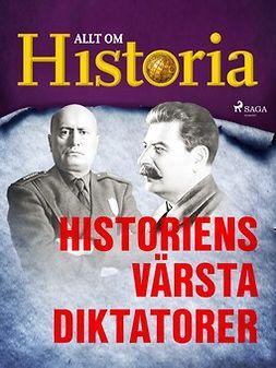 - Historiens värsta diktatorer, ebook