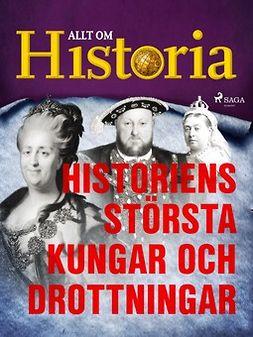 - Historiens största kungar och drottningar, ebook