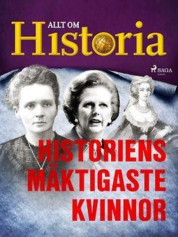 - Historiens mäktigaste kvinnor, ebook