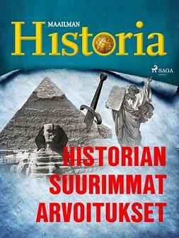 - Historian suurimmat arvoitukset, e-kirja