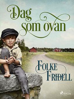 Fridell, Folke - Dag som ovan, ebook
