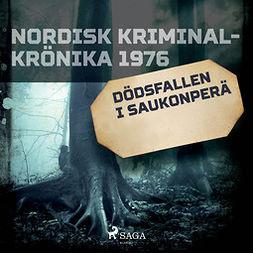 Diverse - Dödsfallen i Saukonperä, äänikirja