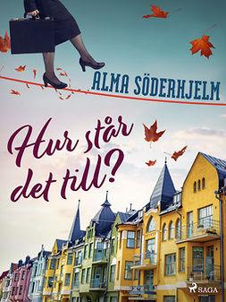 Söderhjelm, Alma - Hur står det till?, ebook