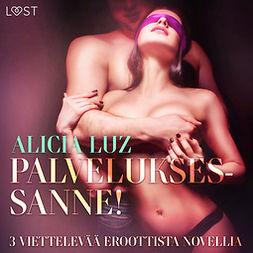 Luz, Alicia - Palveluksessanne! - 3 viettelevää eroottista novellia, äänikirja