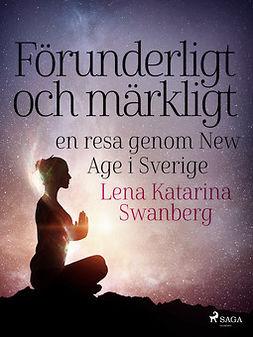 Swanberg, Lena Katarina - Förunderligt och märkligt: en resa genom New Age i Sverige, ebook