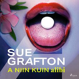 Grafton, Sue - A niin kuin alibi, audiobook