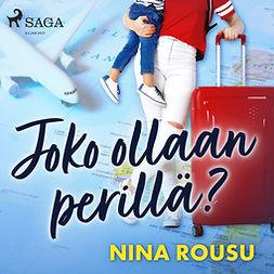 Rousu, Nina - Joko ollaan perillä?, äänikirja