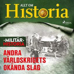 Mohede, Håkan - Andra världskrigets okända slag, audiobook