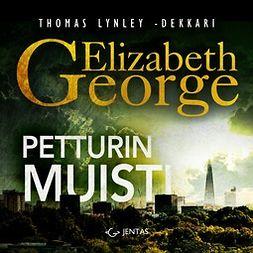George, Elizabeth - Petturin muisti, audiobook