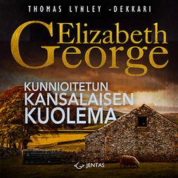 George, Elizabeth - Kunnioitetun kansalaisen kuolema, äänikirja