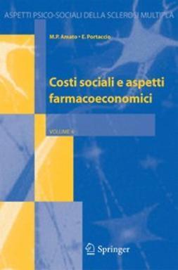 Amato, M.P. - Costi sociali e aspetti farmacoeconomici, e-kirja