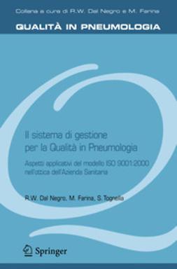 Negro, Roberto Walter - Il sistema di gestione per la Qualità in Pneumoiogia, ebook