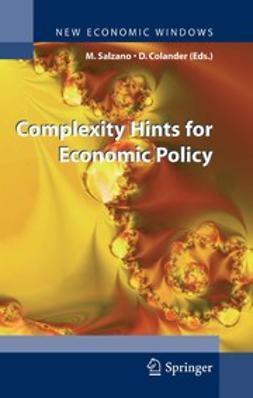 Colander, David - Complexity Hints for Economic Policy, ebook