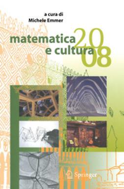 Emmer, Michele - matematica e cultura 2008, ebook