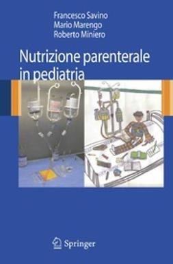Savino, Francesco - Nutrizione parenterale in pediatria, ebook