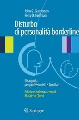 Clerici, Massimo - Disturbo di personalitá borderline, e-bok